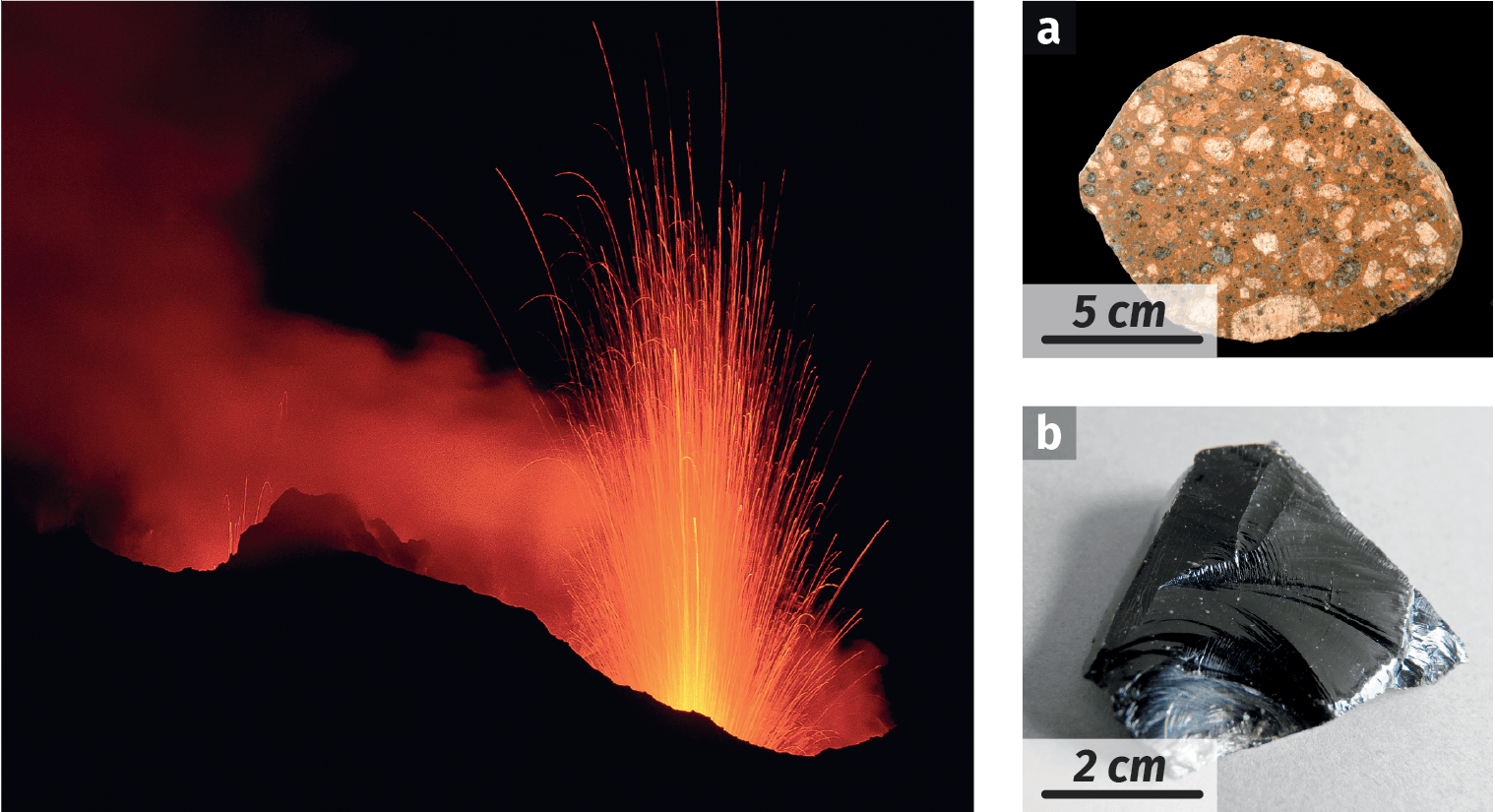 Un magma pour plusieurs roches
