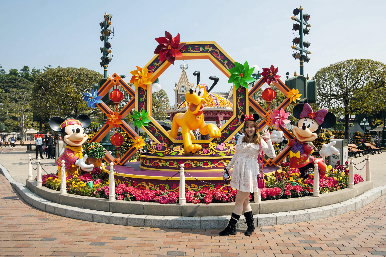 Disneyland, un parc d'attraction reproduit à l'échelle mondiale