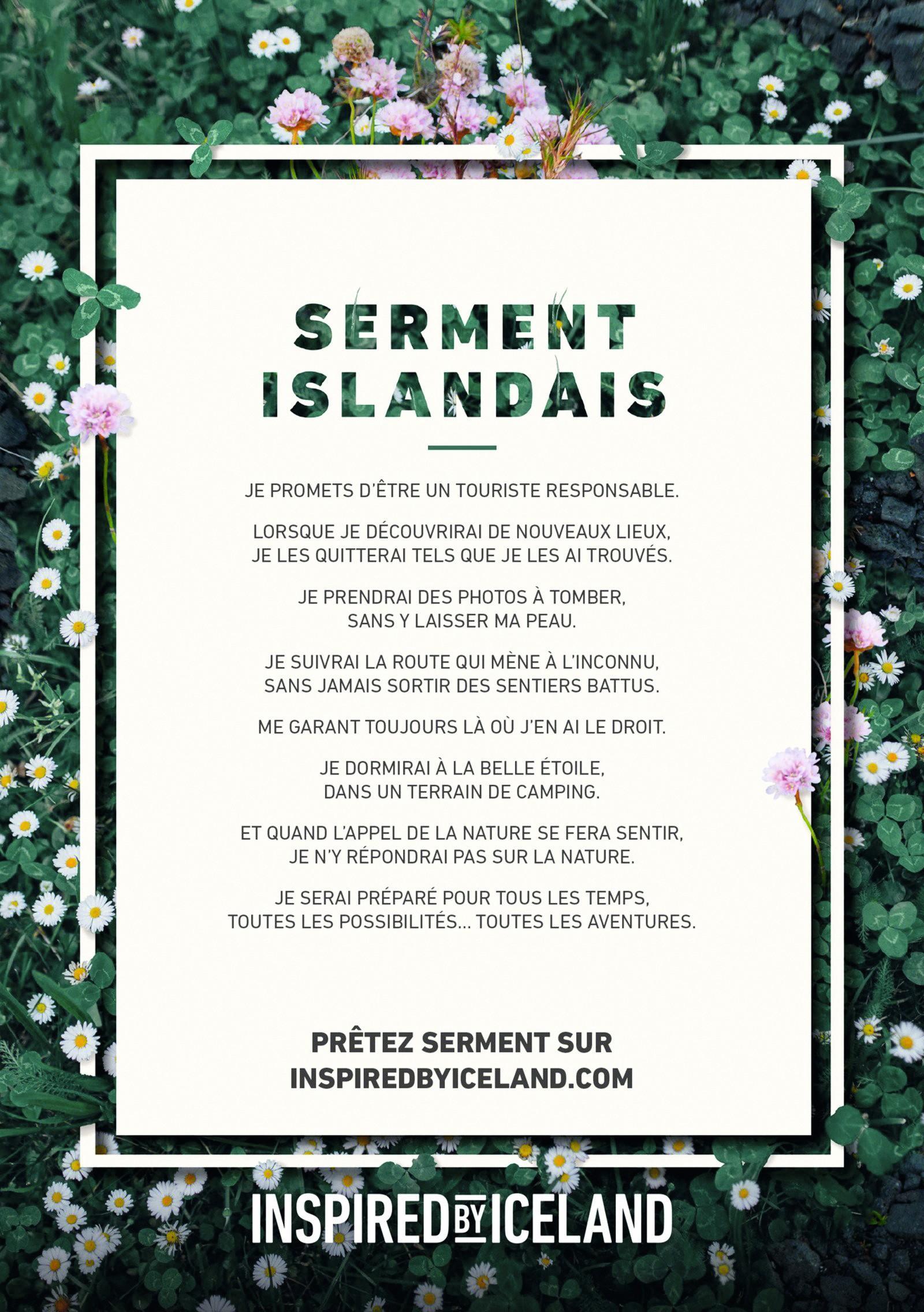 Vers un tourisme durable ? Serment islandais