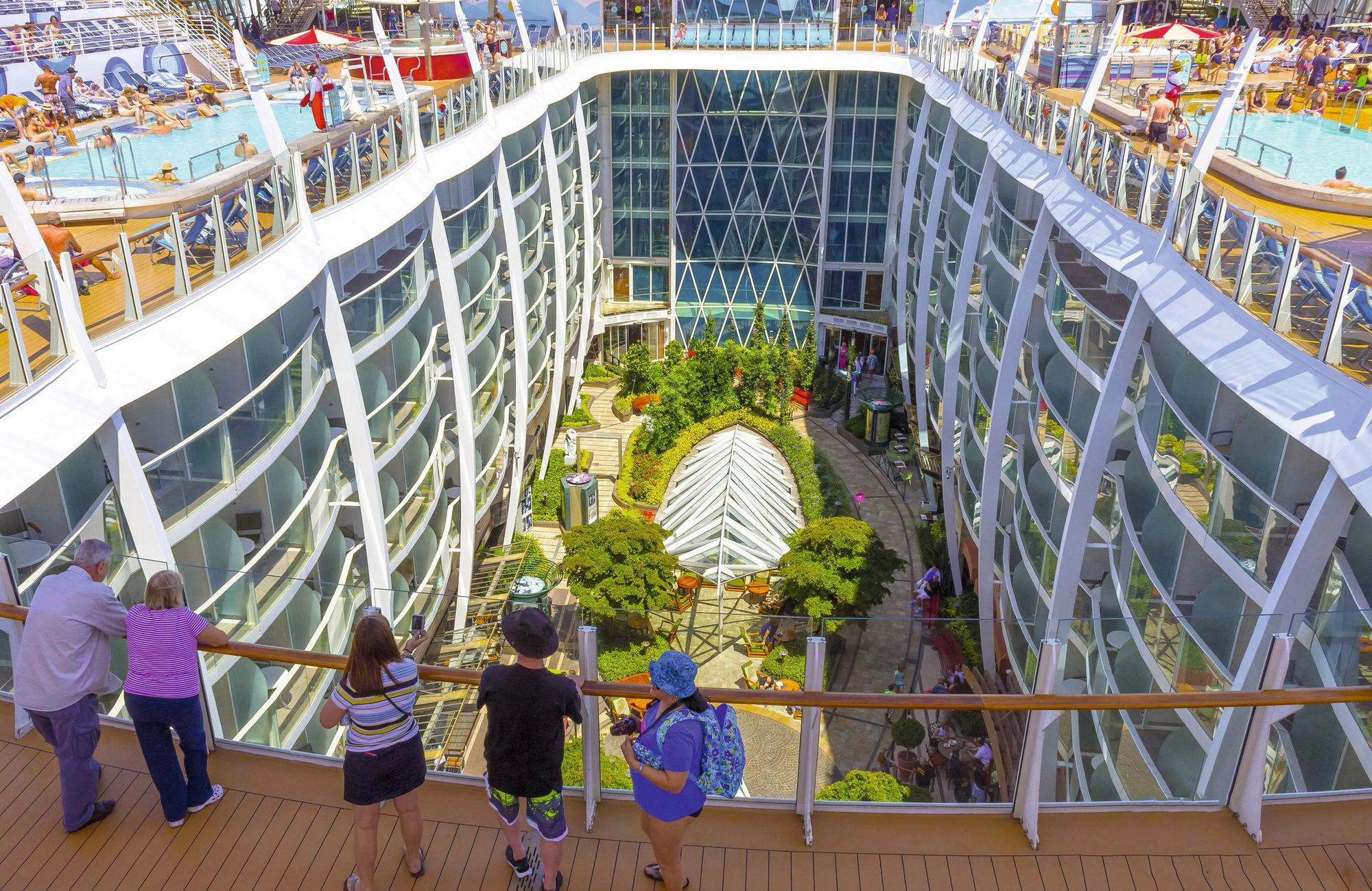 L'Oasis of the Sea de la Royal Caribbean Cruise Line (RCCL)