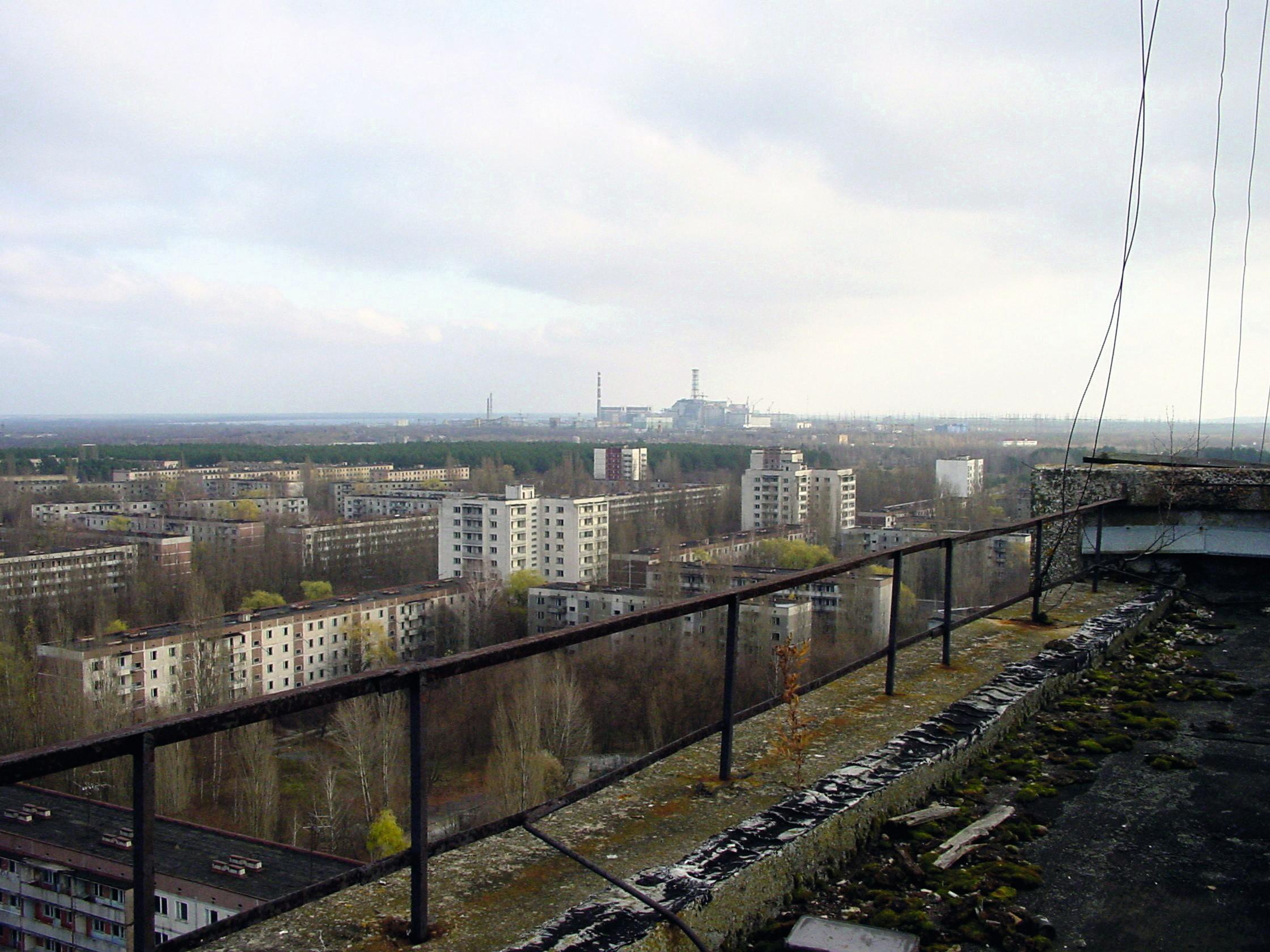 La ville a été détruite en 1986 par l'explosion de sa centrale nucléaire, mais elle reste habitée
