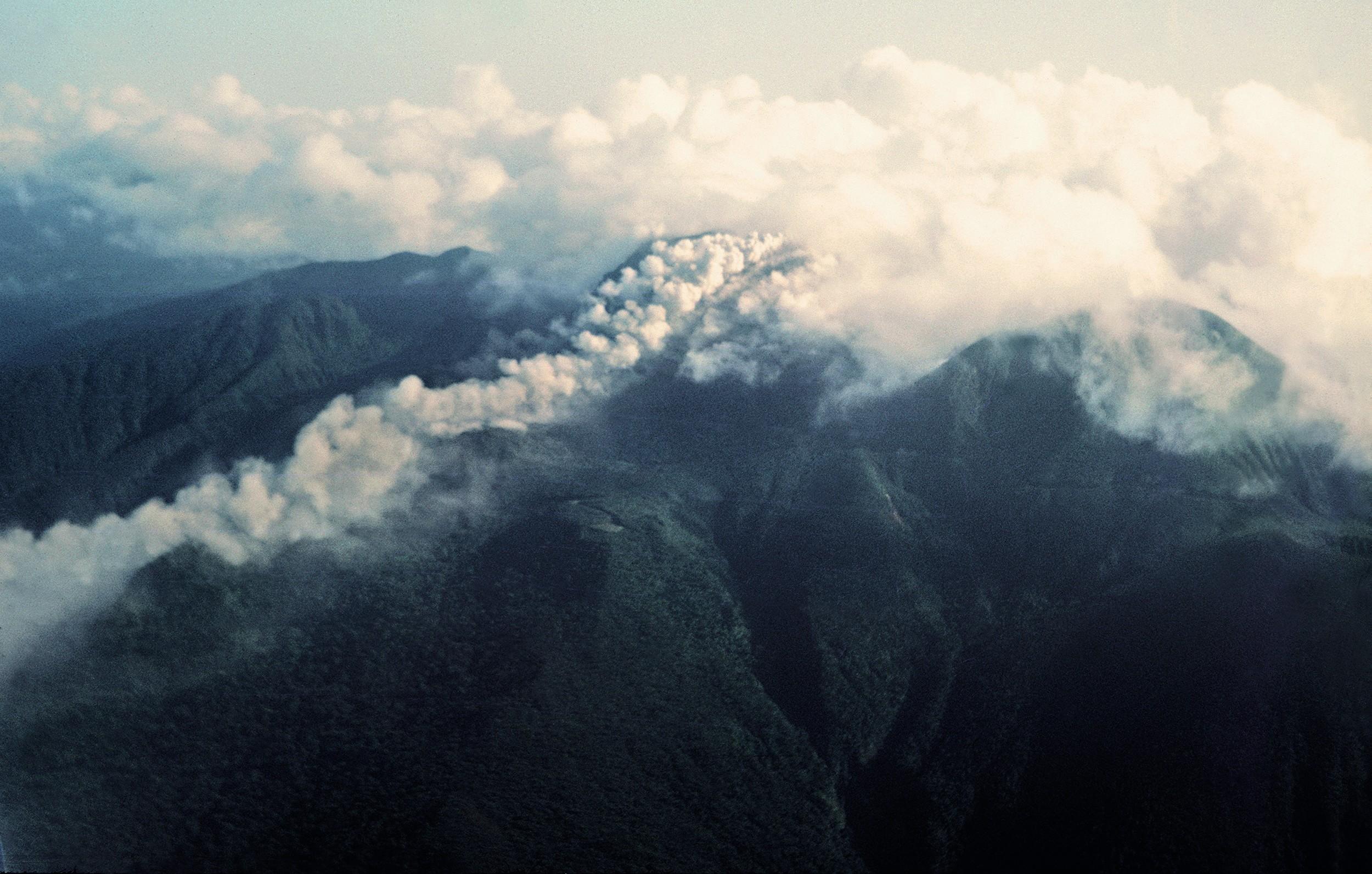 L'éruption de la Soufrière en 1976