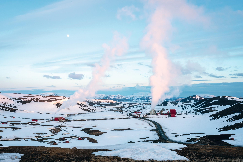 Exploiter l'énergie du volcan : la géothermie (Krafla, Islande)
