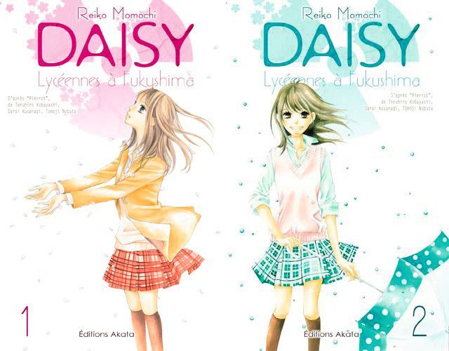 Teruiko Kobayashi, Daisy lycéennes à Fukushima, Akata, 2016, 2 vol.