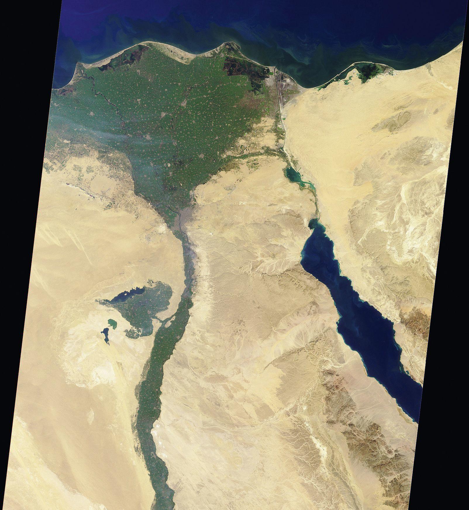 Delta du Nil, Égypte
