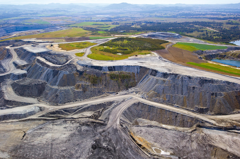 Mine de charbon en Australie