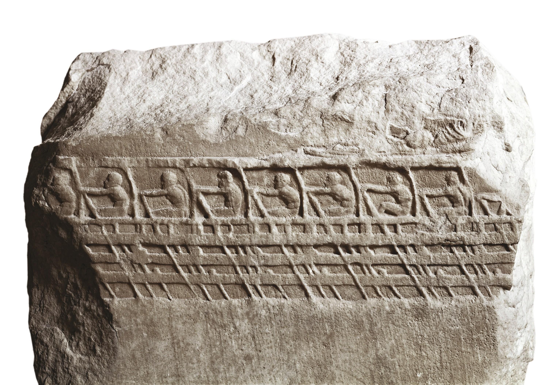 Une trière athénienne (vers 410-400 av. J.‑C.)