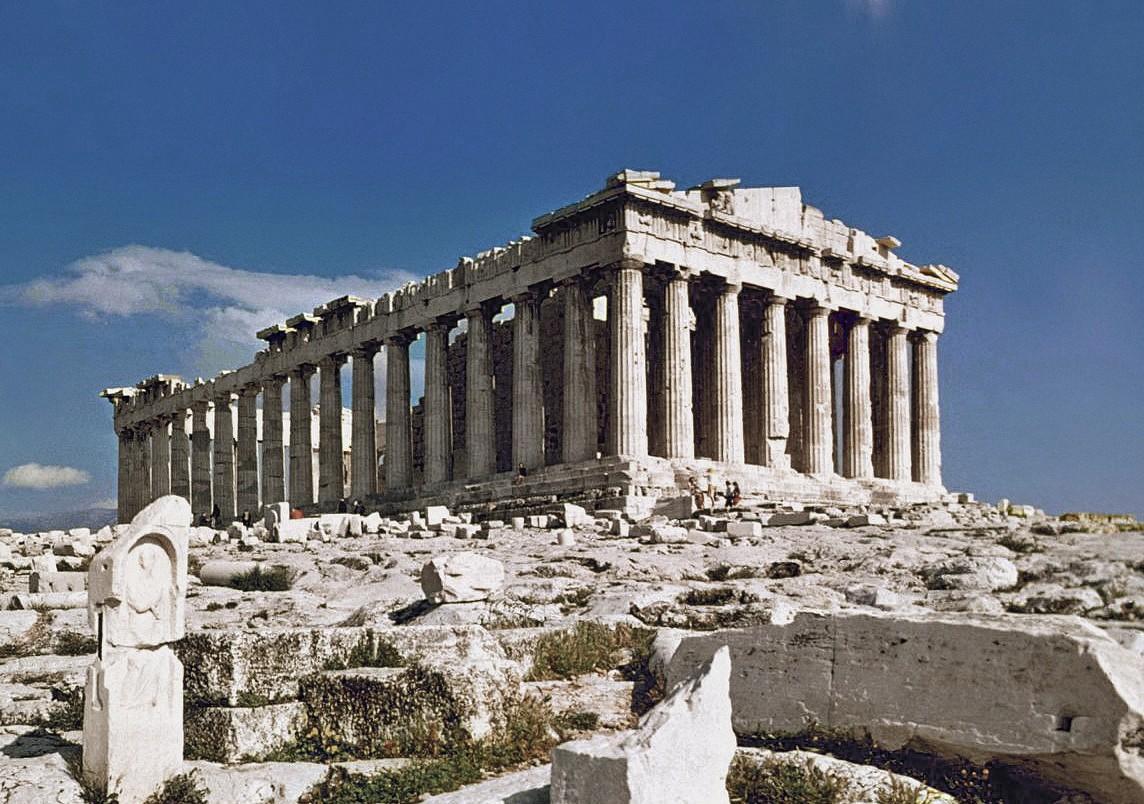 Ruines du Parthénon, Athènes