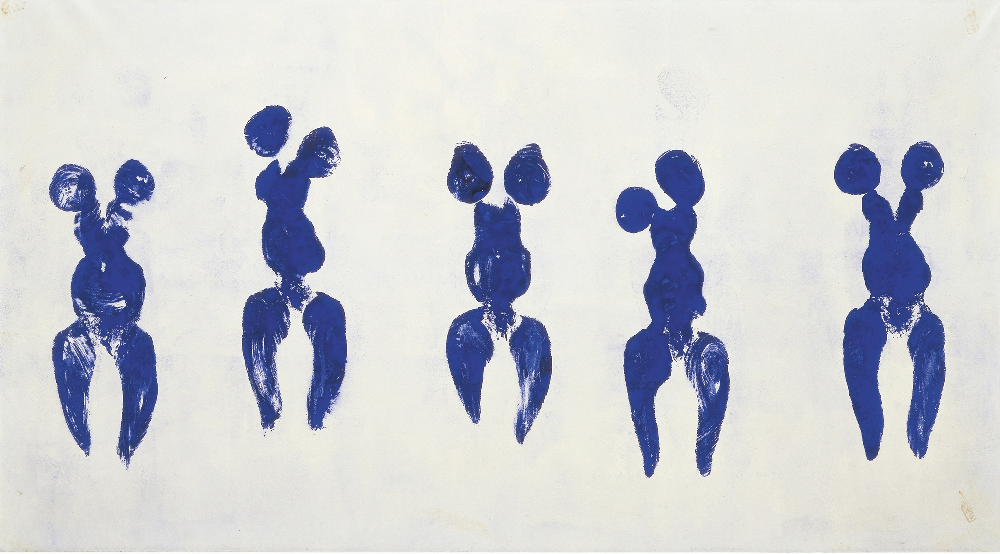 Yves Klein, Anthropométrie de l'époque bleue (ANT 82), 1960
