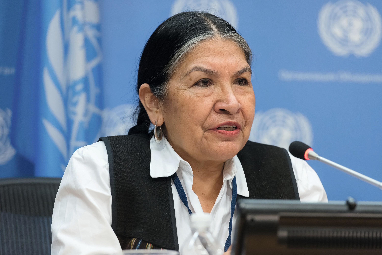 Tarcila Rivera Zea, activista quechua de Perú.