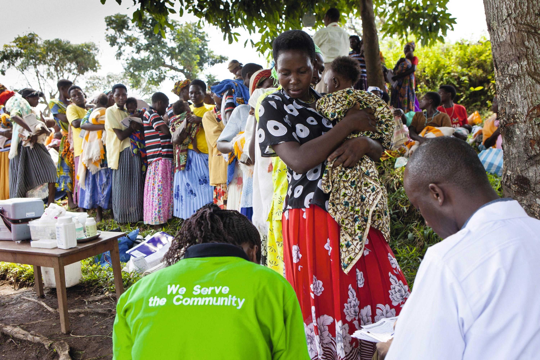 Bwindi, Ouganda
