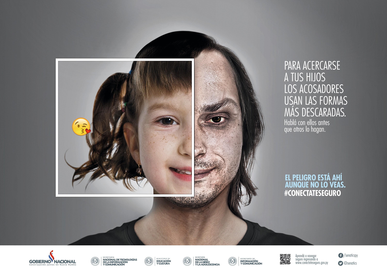 Campaña de prevención contra el grooming, 2017.