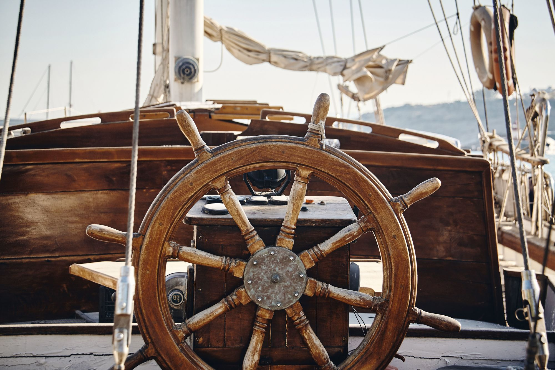 Gouvernail - bateau