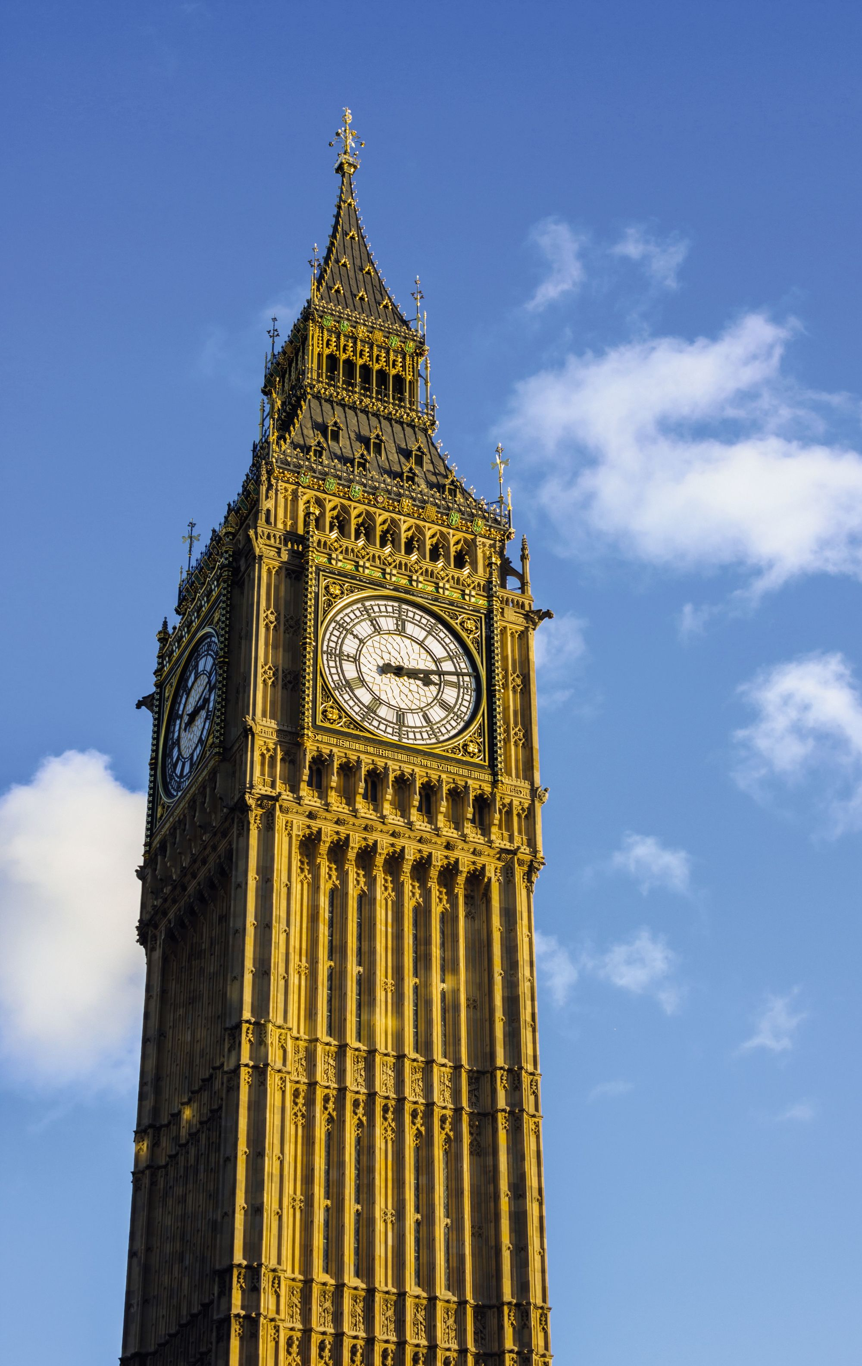 Mesurer un angle en radian - Big Ben