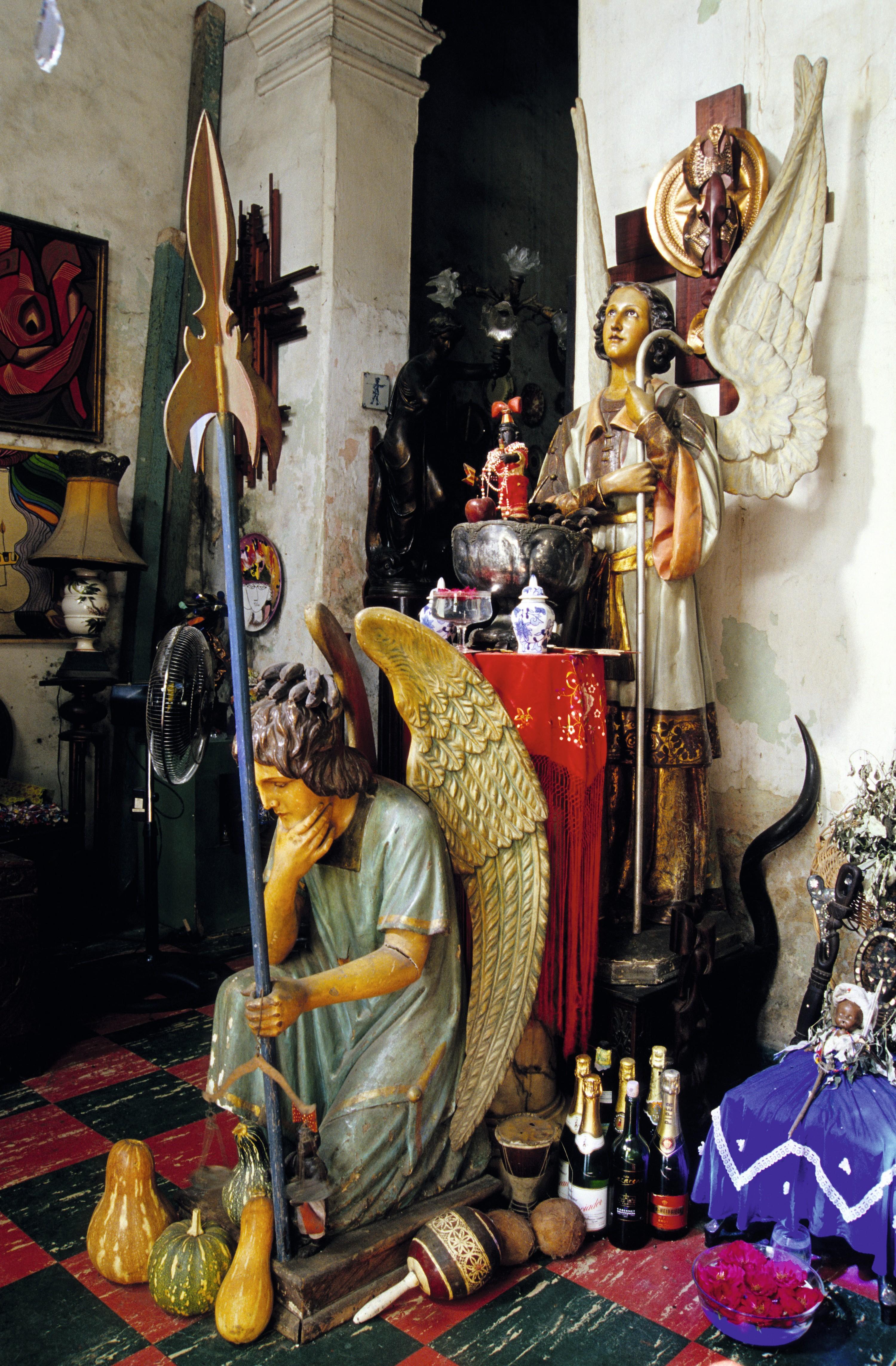 Santería en Madruga, Cuba.