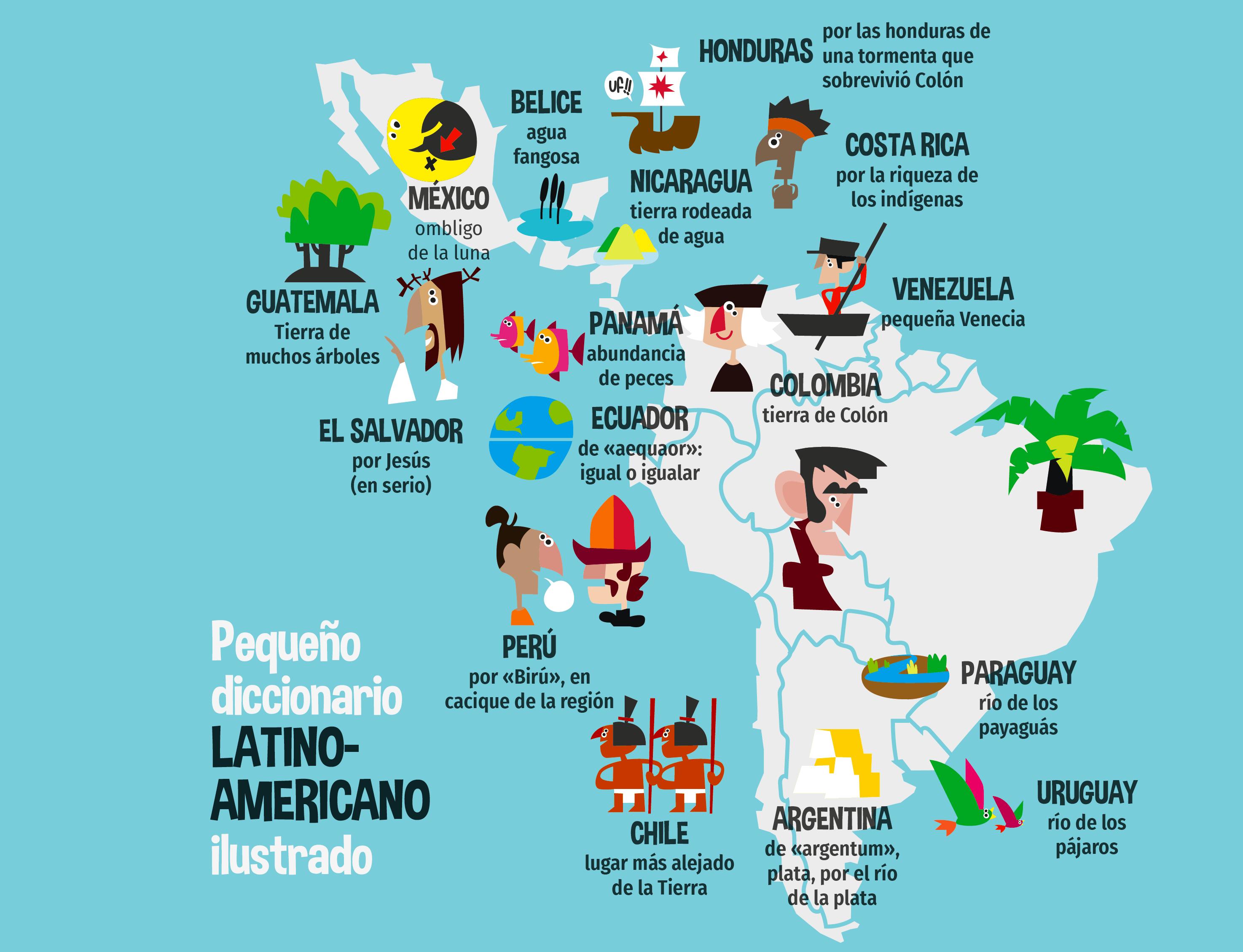 Pequeño diccionario latinoamericano ilustrado