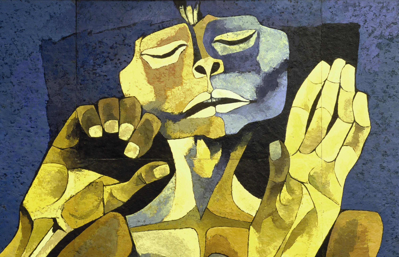 Osvaldo Guayasamín, El mestizaje, 1998.