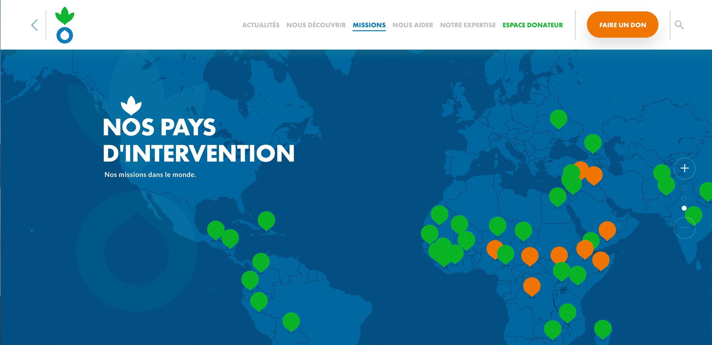 Le tour du monde d'Action contre la faim