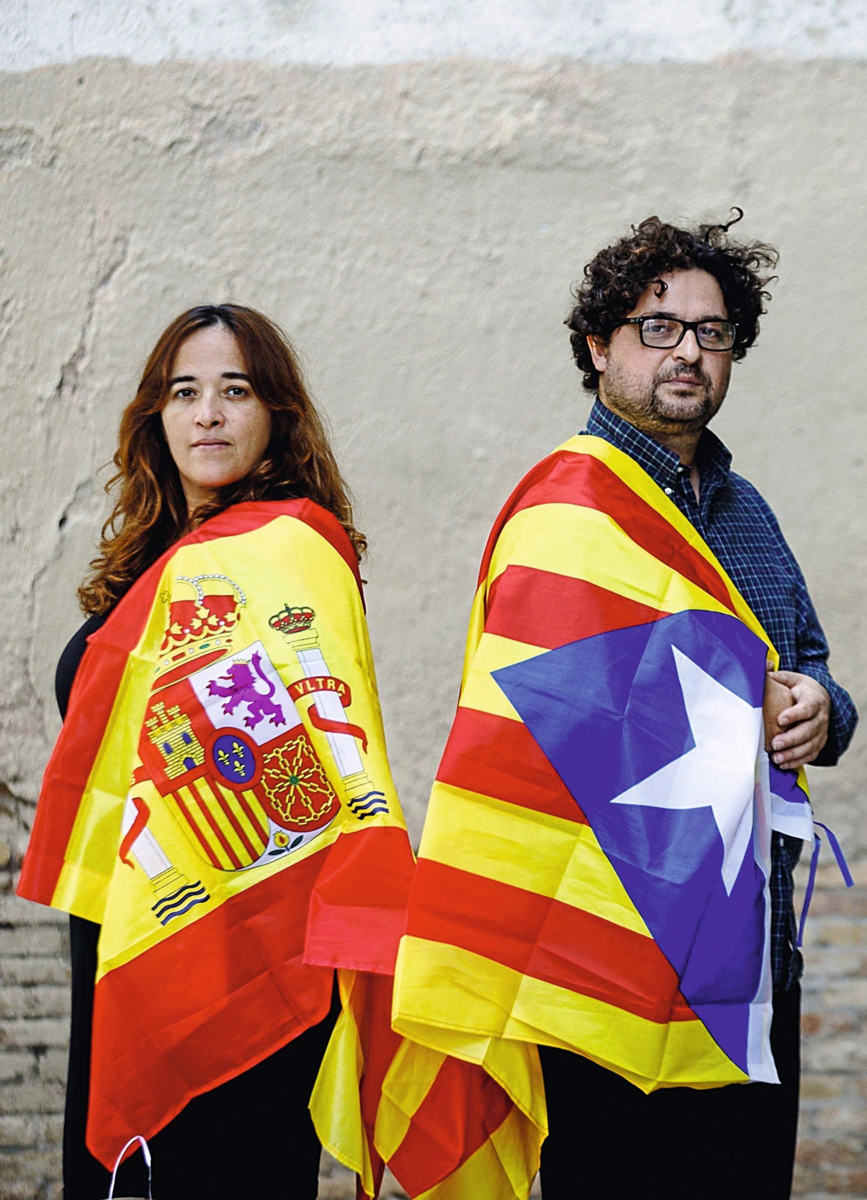 «Las 'familias rotas' del  'Procés' catalán», El Mundo,  24/09/2017.