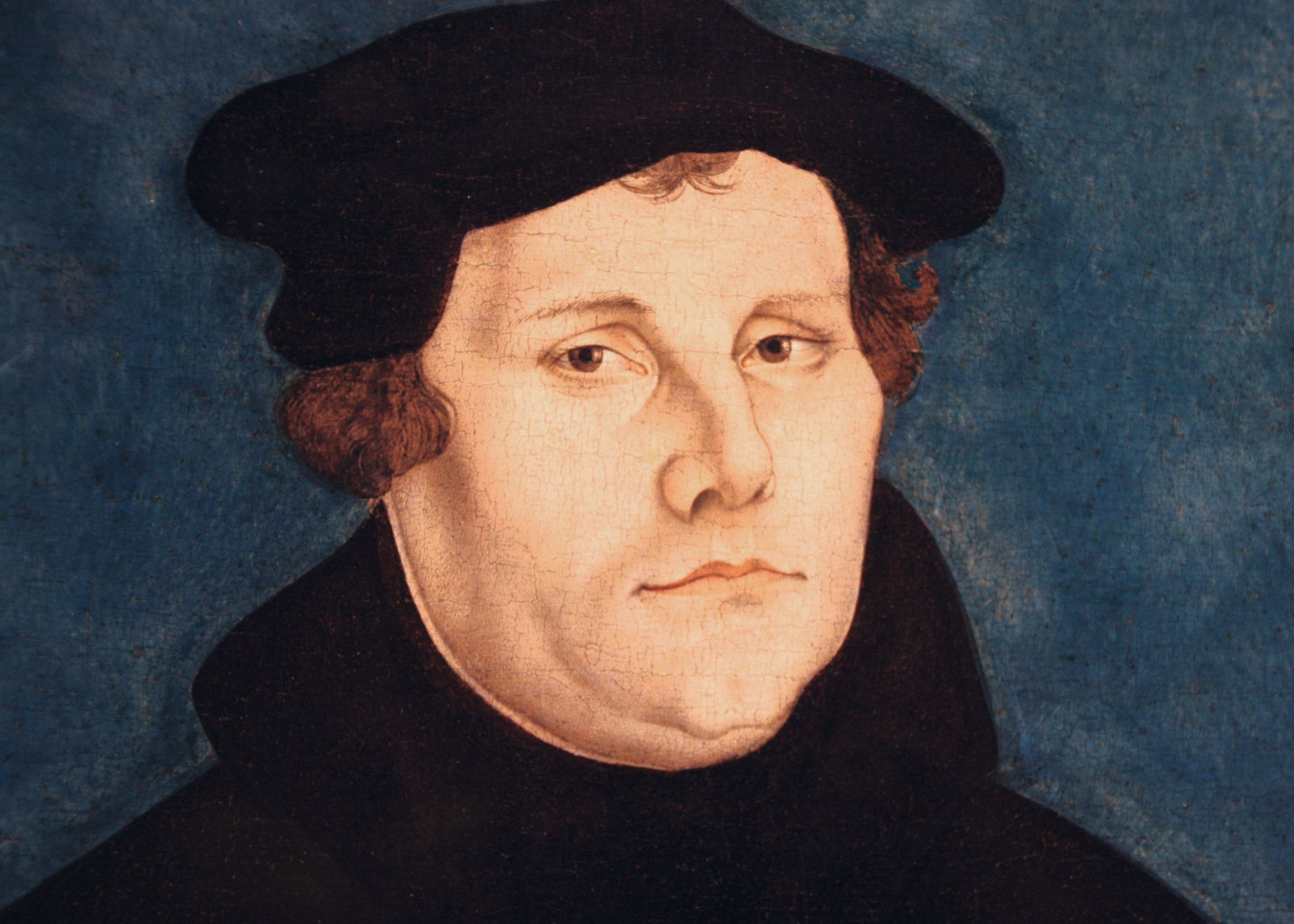 Lucas Cranach l'Ancien, Luther, 1528