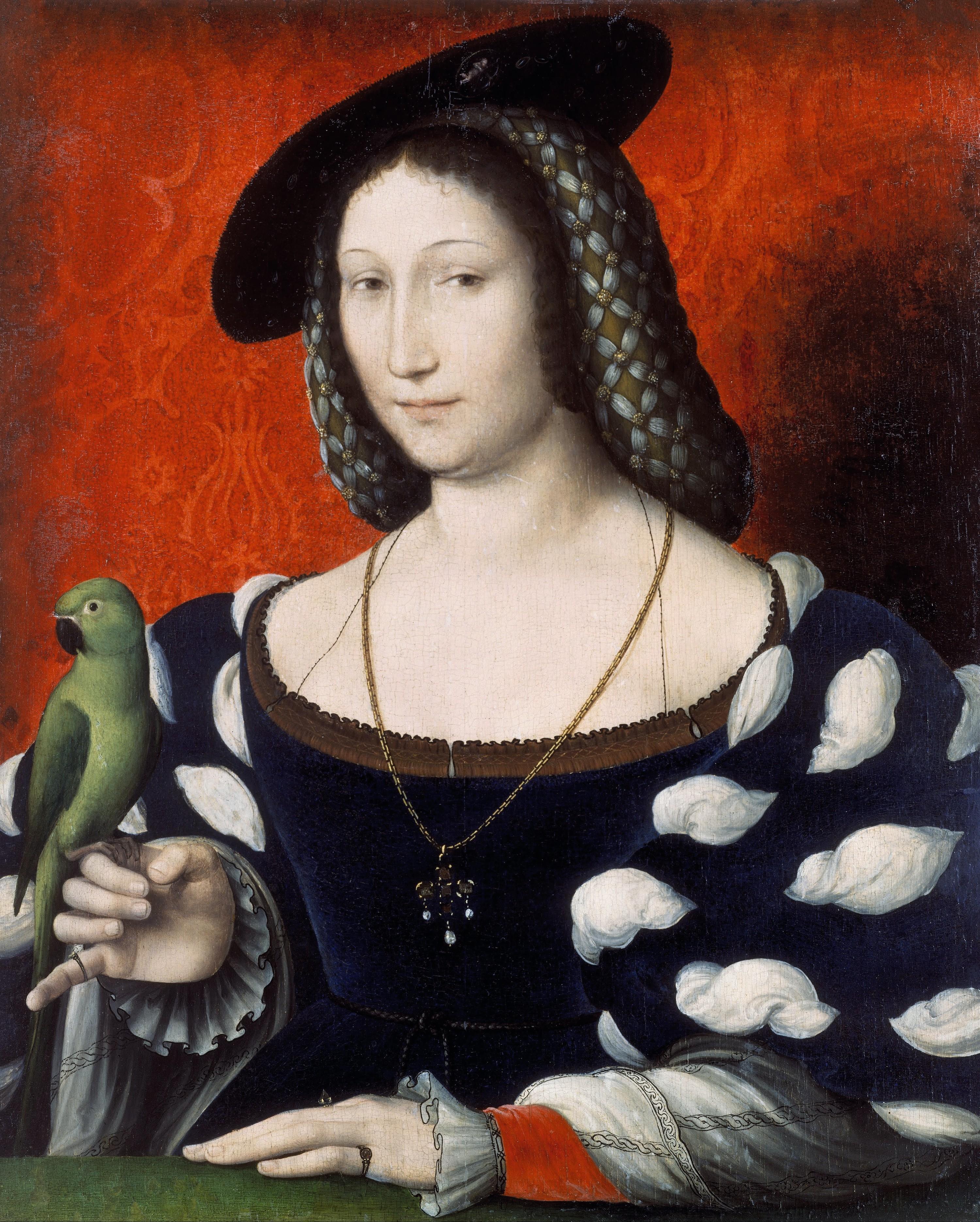 Jean Clouet, Marguerite de Navarre, v. 1530