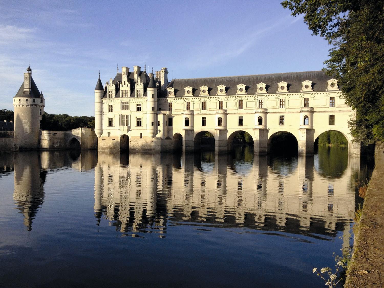 Vue actuelle du château de Chenonceau