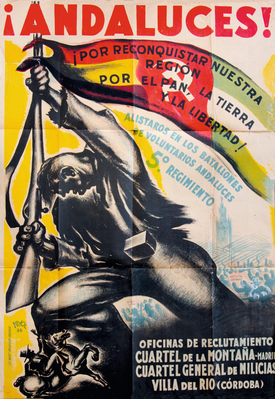 Ramón Puyol, ¡Andaluces!, 1936.
