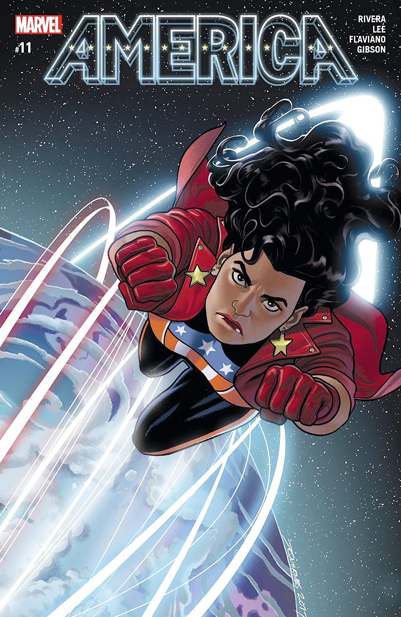 Portada del cómic Miss América #11, Marvel Comics, 2018.