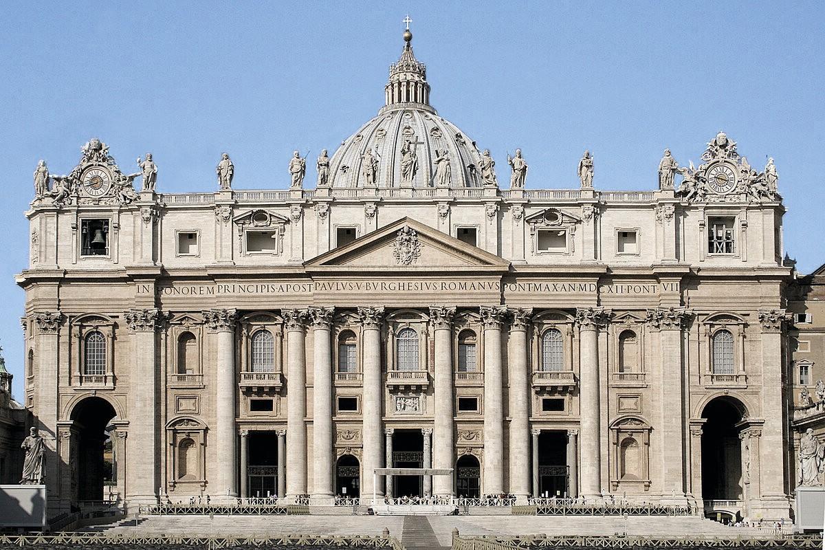 La basilique de Saint-Pierre de Rome