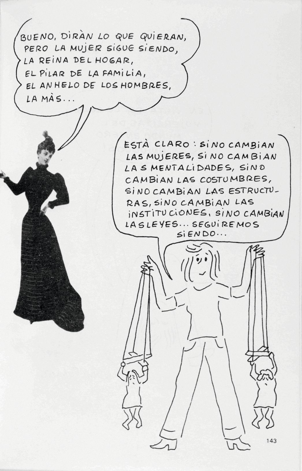 Núria Pompeia, Mujercitas, 1975.