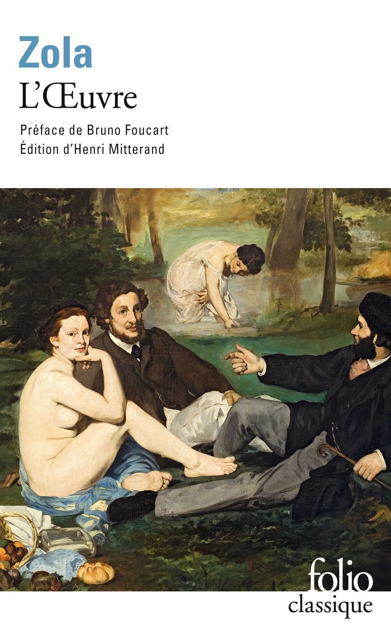 Émile Zola, L'Œuvre