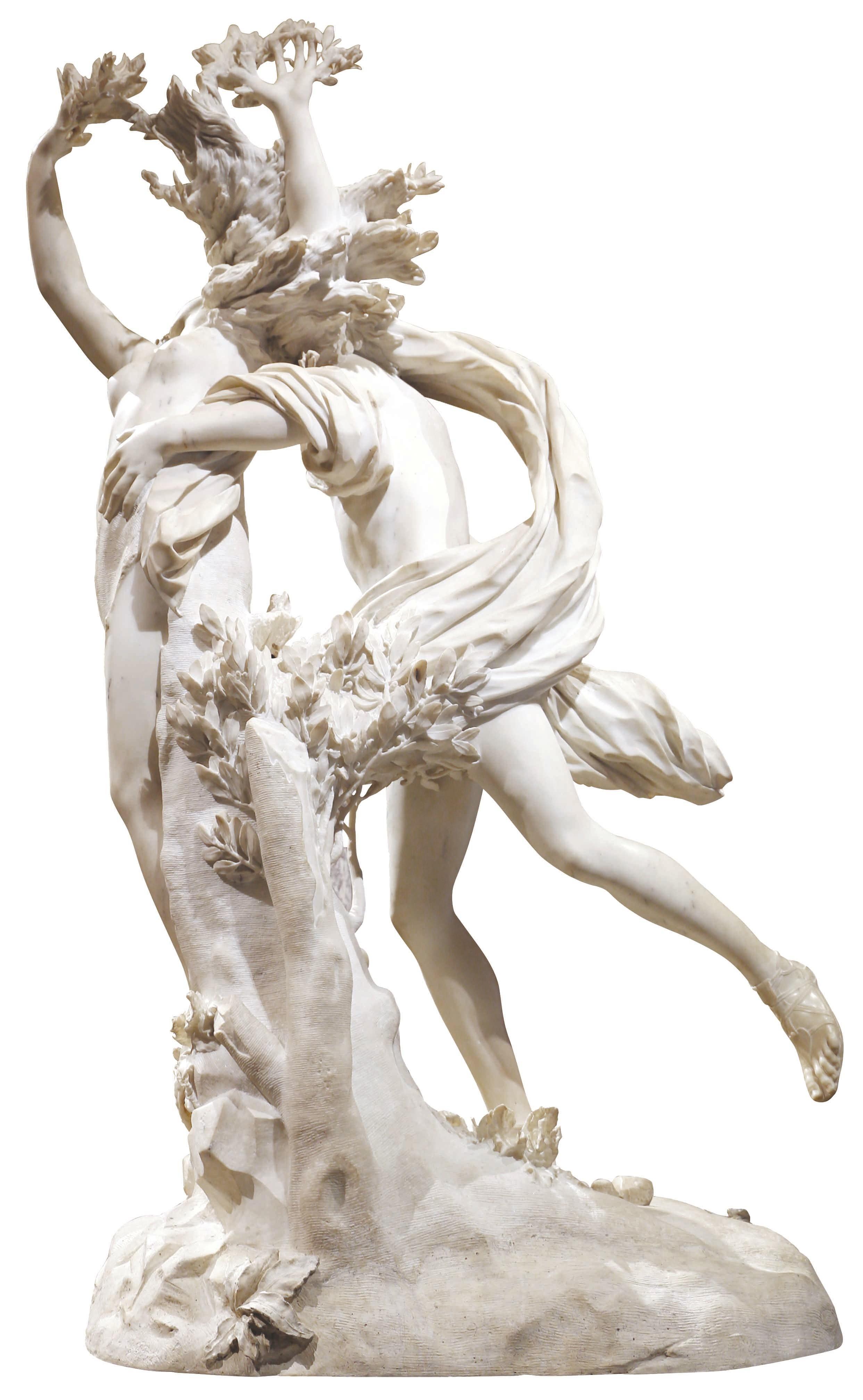 Gian Lorenzo Bernini (dit Le Bernin), Apollon et Daphné, 1622 - 1625, marbre, Rome.