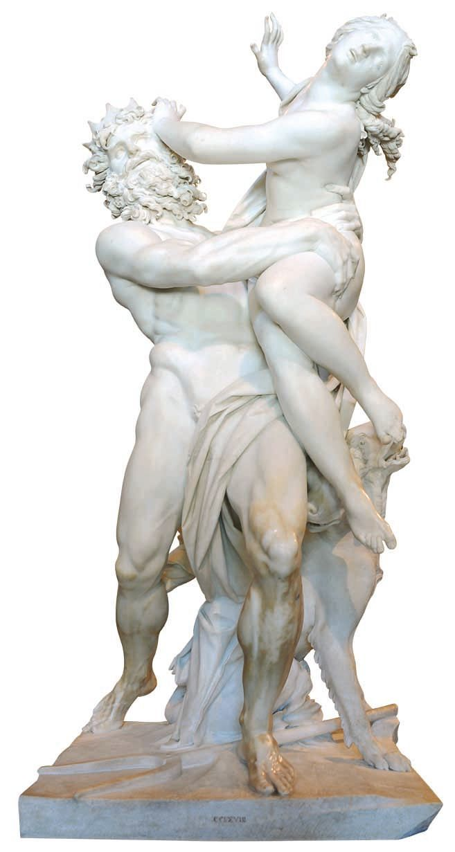 Gian Lorenzo Bernini (dit Le Bernin), L'Enlèvement de Proserpine, 1621, marbre, Rome.