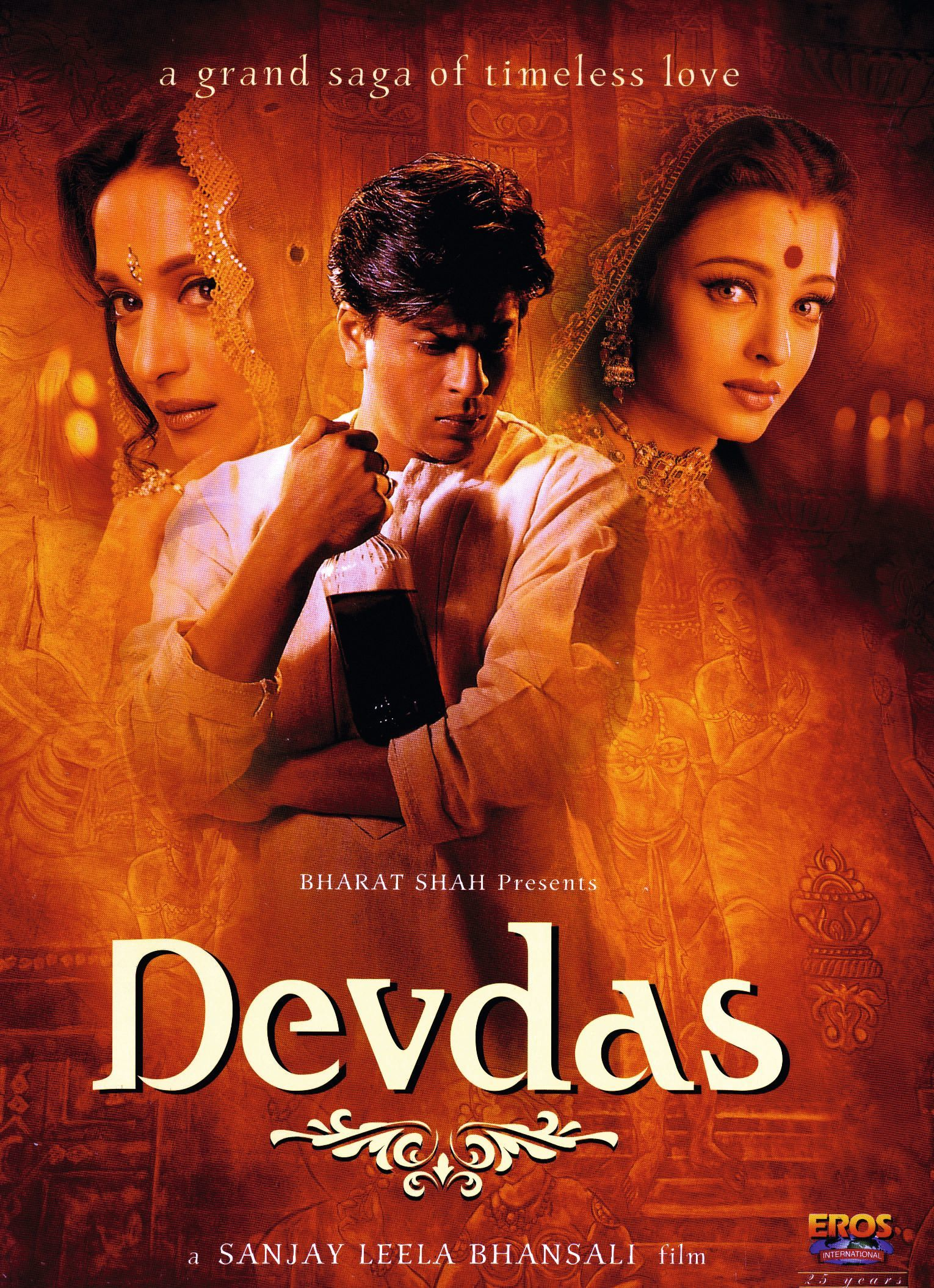 Devdas, by Sanjay Leela Bhansali, 2002