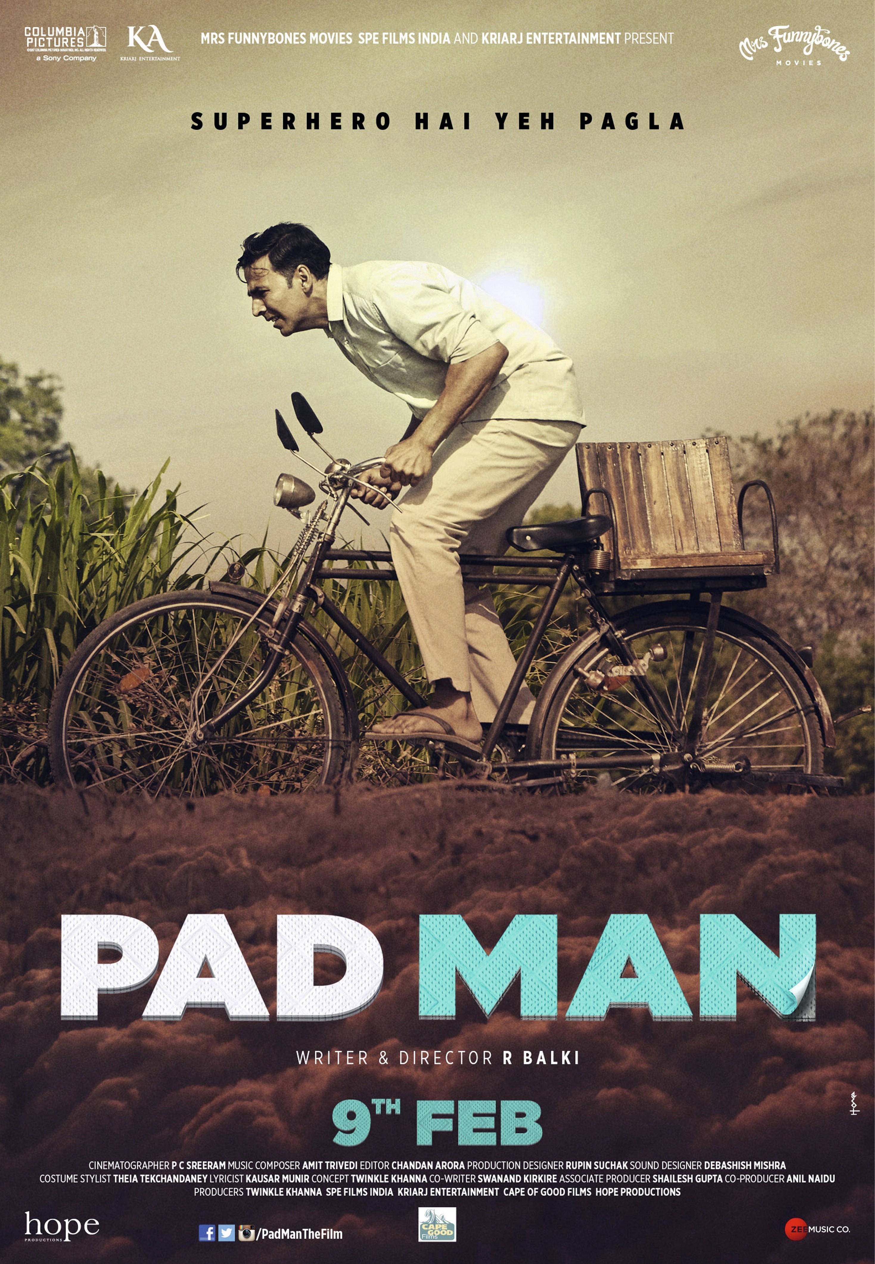 Padman, by R. Balki, 2017
