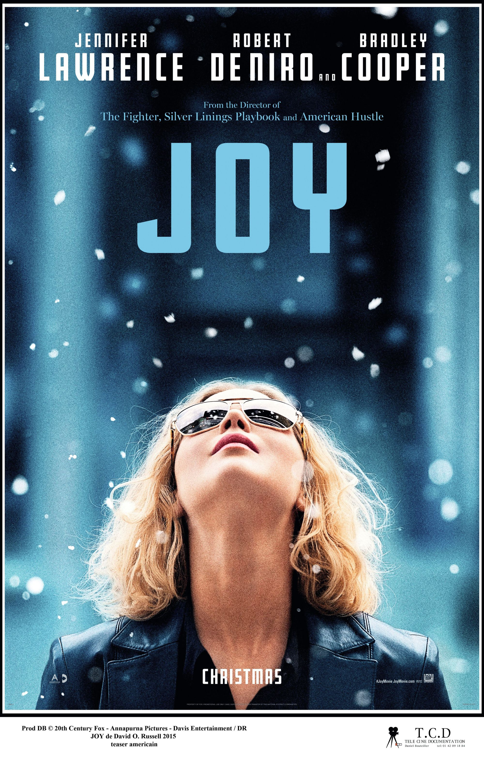 Joy, by David O. Russell, 2015