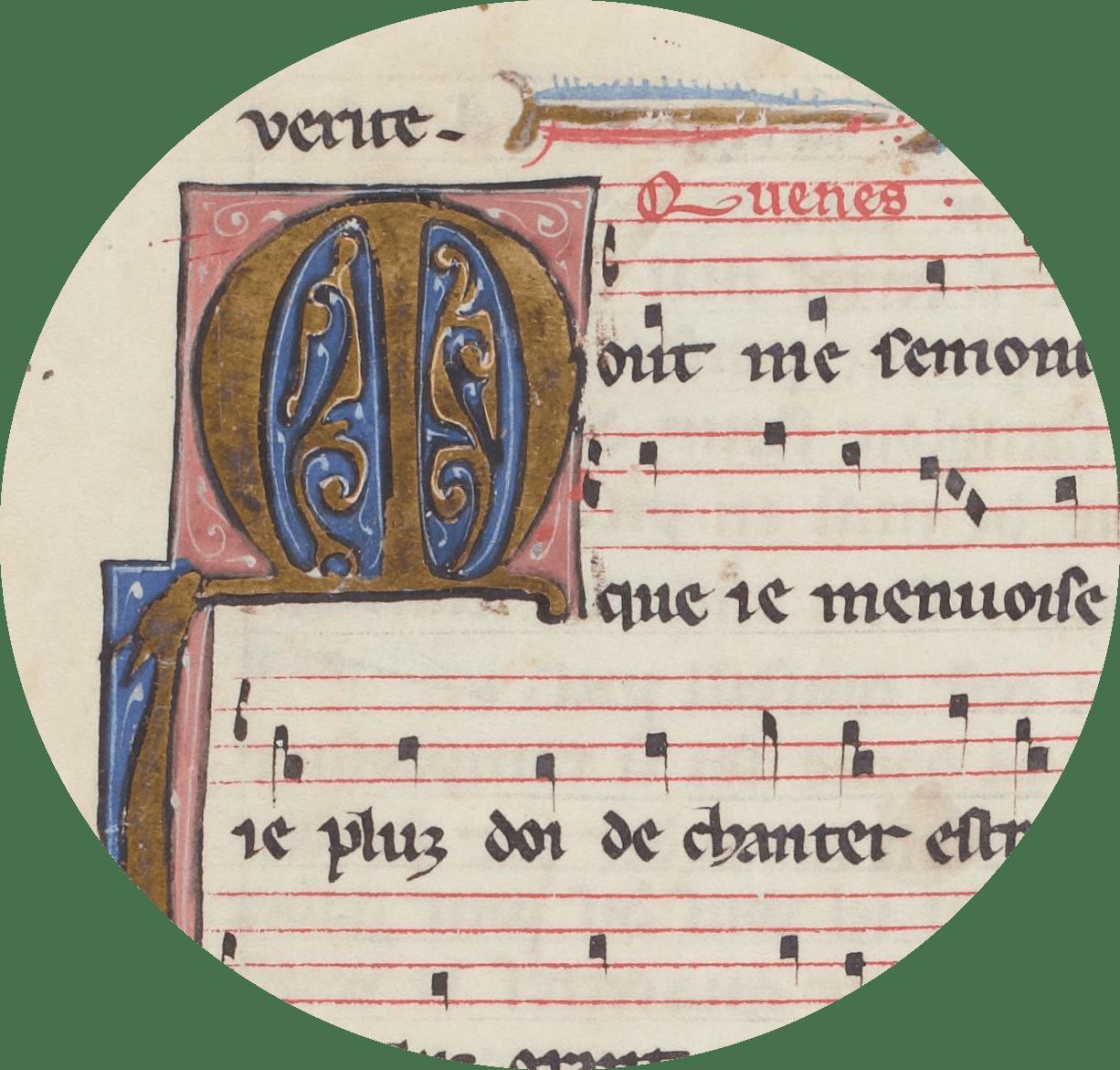 Manuscrit Conon de Bethune.