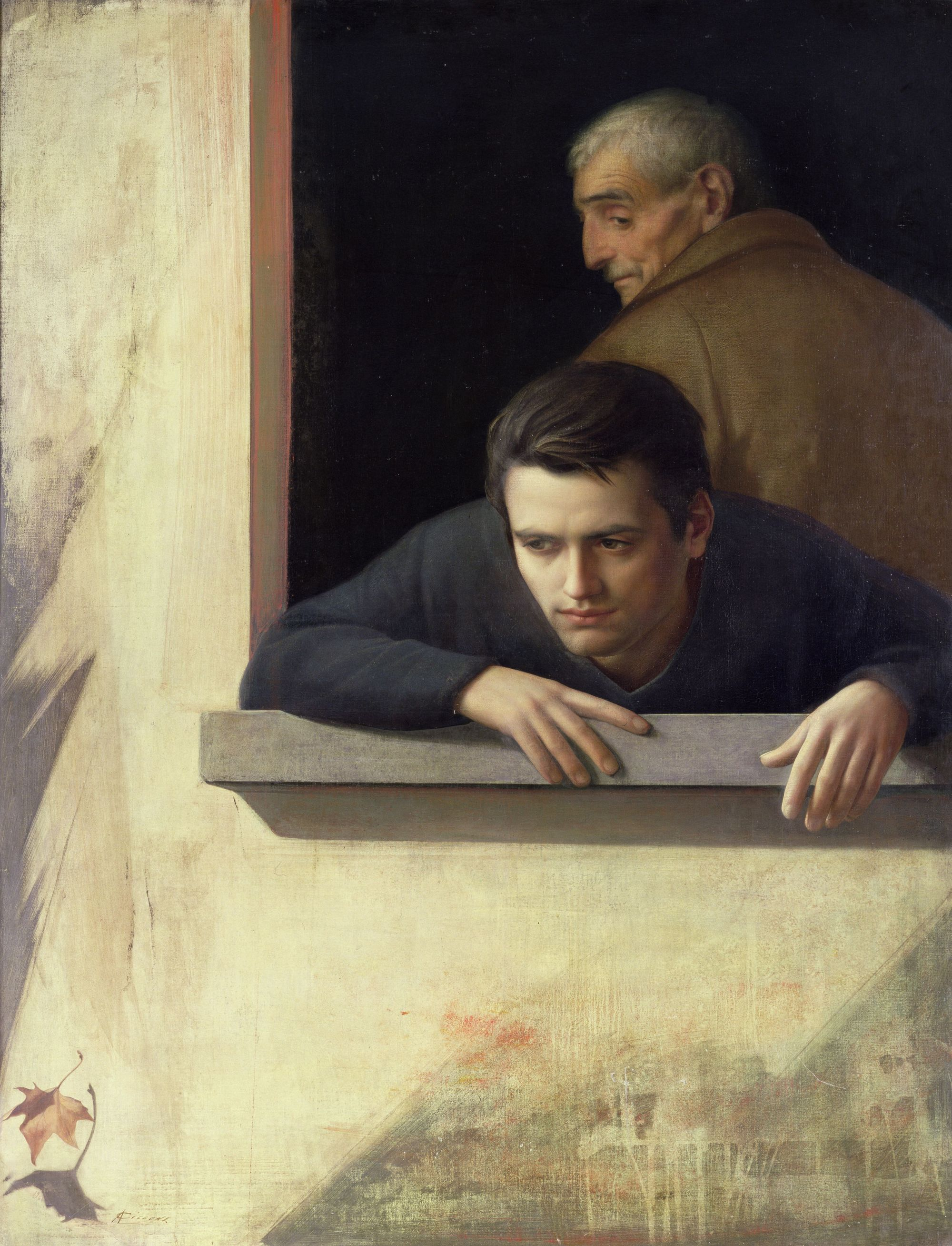 Antonio Ciccone, Les deux âges, 1960, tempera grasse, The Forbes Magazine Collection.