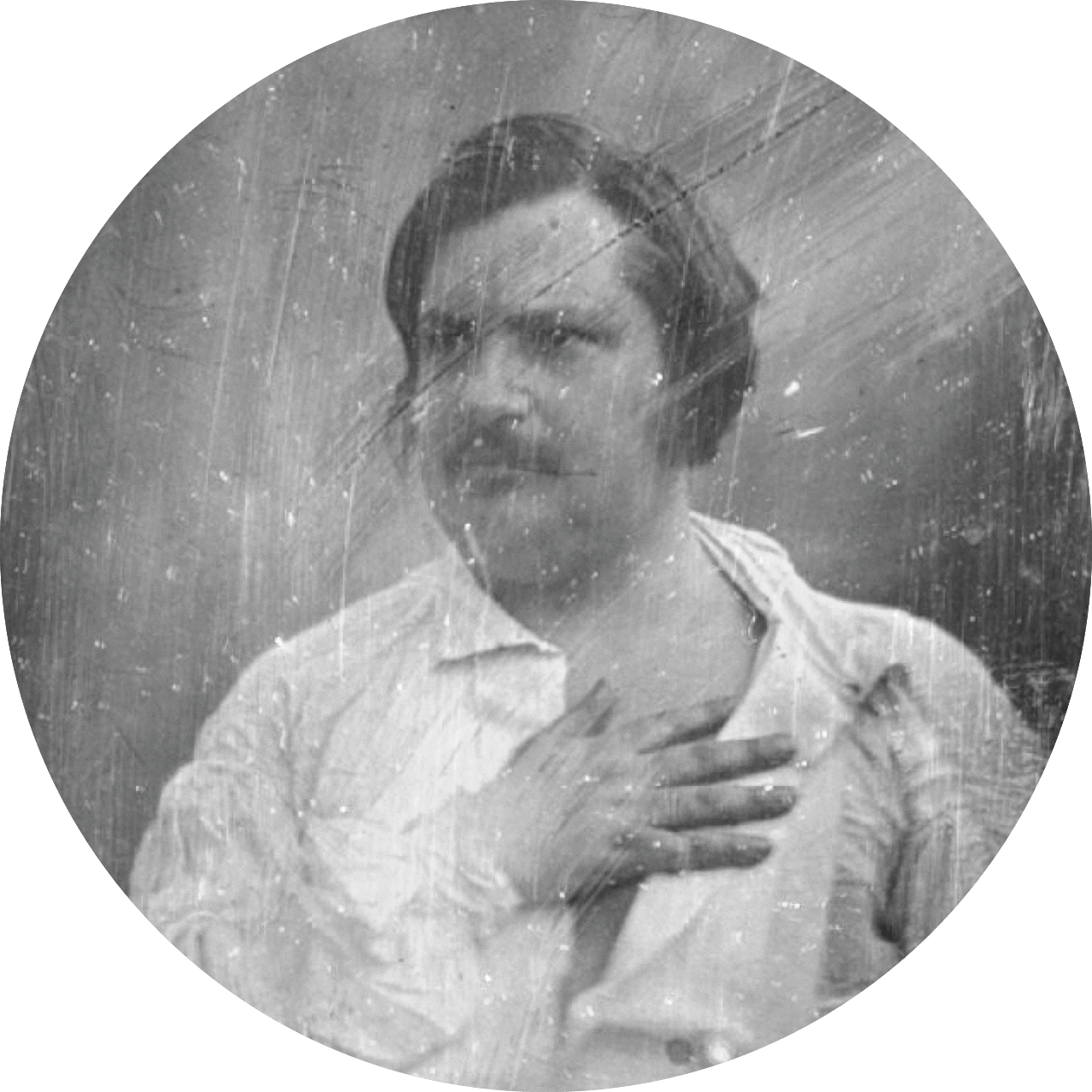 Daguerrotype, Honoré de Balzac.
