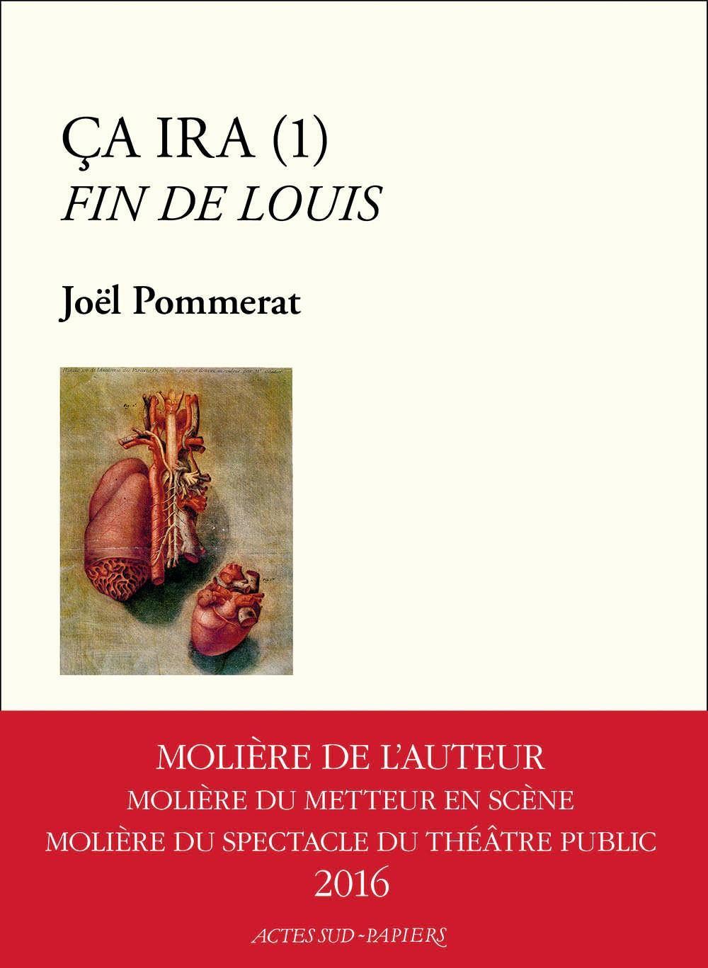 Joël Pommerat, Ça ira (1) Fin de Louis, Actes Sud, 2016.