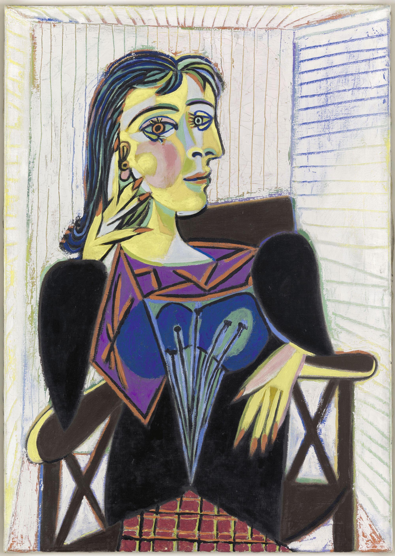 Pablo Picasso, Retrato de Dora Maar, 1937.