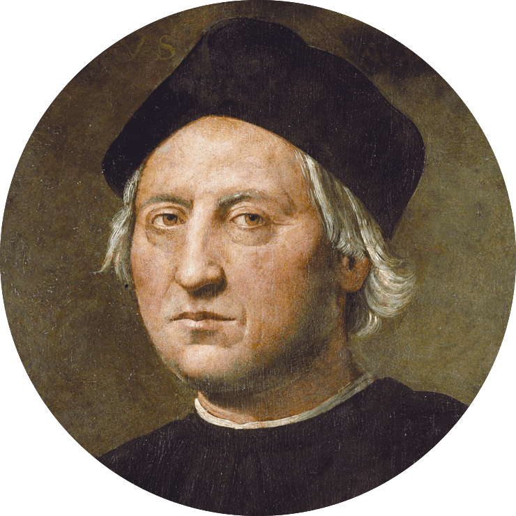Christophe Colomb (vers 1450‑1506)