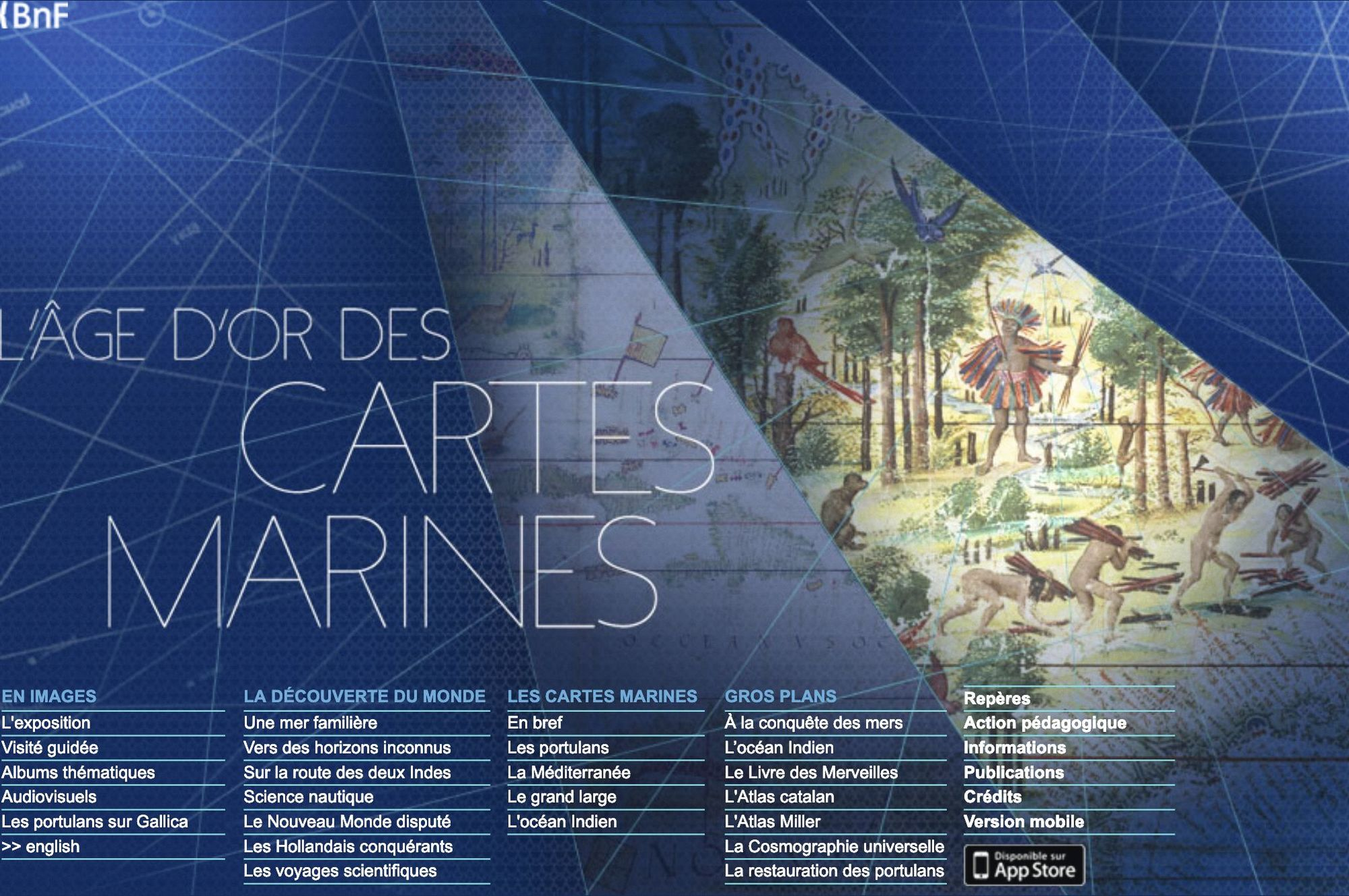 « L'âge d'or des cartes marines », exposition de la BnF, 2012-2013