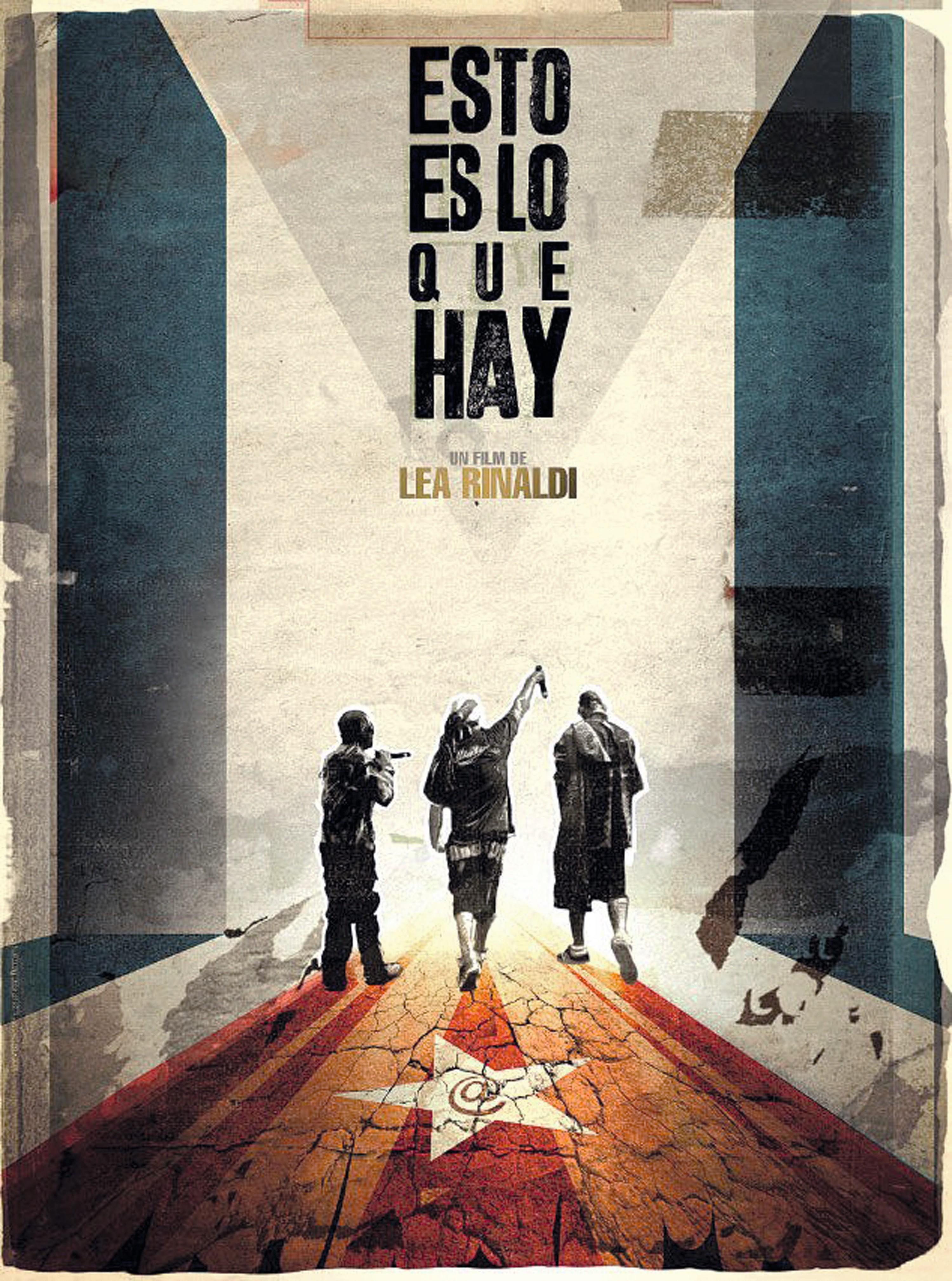 Cartel de la película Esto es lo que hay, Léa Rinaldi,  2015.