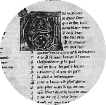 Manuscrit Rutebeuf