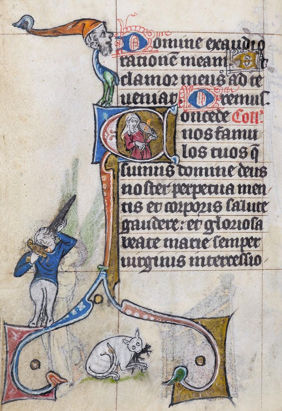 Livre d'heures dit « de Maastricht », début du XIVe siècle, British Library, Londres.