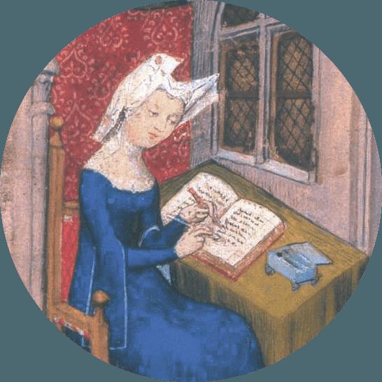 Tableau Christine de Pizan.