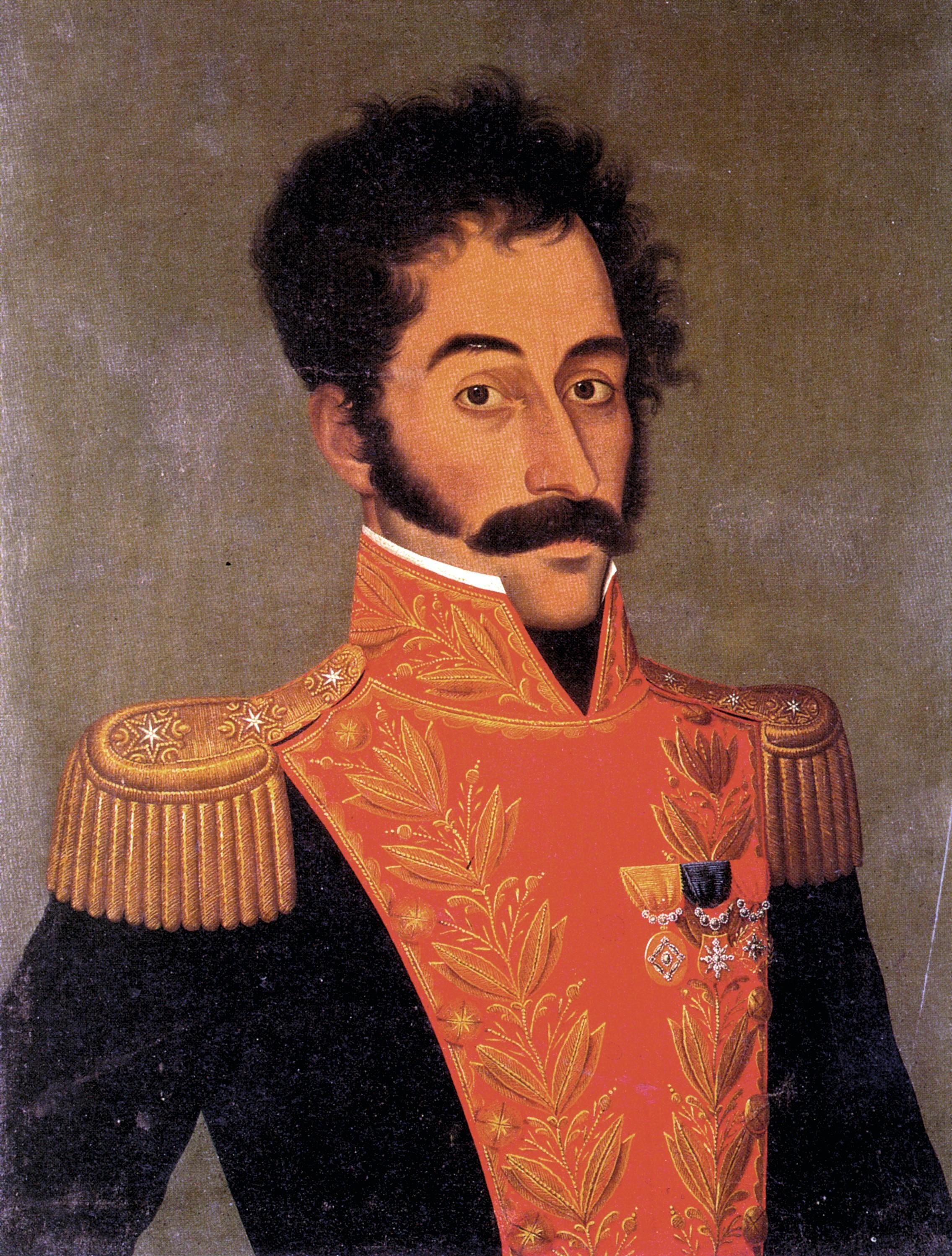 Pablo Bernasconi, Reinterpretación del retrato de Bolívar para la exposición Bicentenario Pop Bogotá