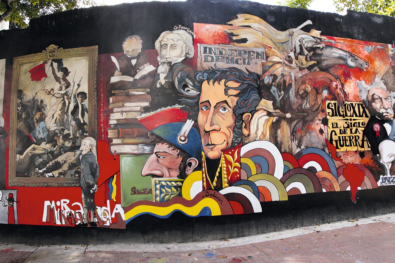 Mural Bolívar