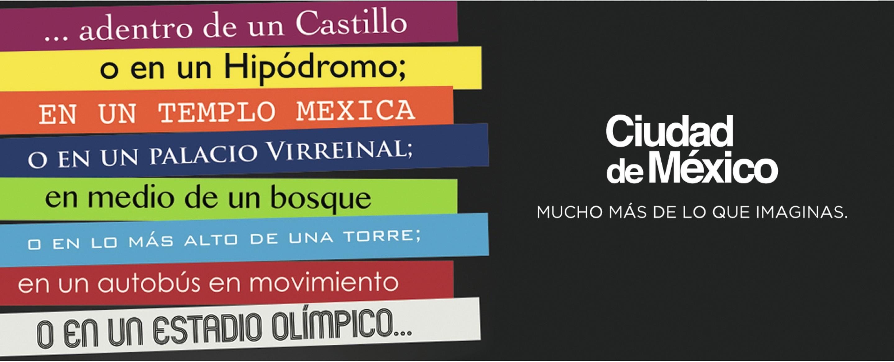 Campaña promocional para el turismo de reuniones, Ciudad de México, 2013-2015.